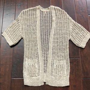 Free People oversized knit cardigan – size XS